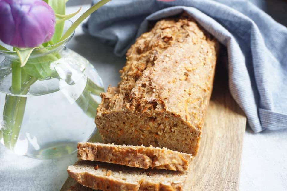 Möhrenbrot für Babys - BLW Rezepte für schnelles Brot und Brötchen