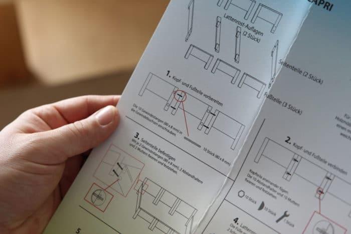 Anleitung für das Original RIMA Familienbett - Familienbett selber bauen leicht gemacht