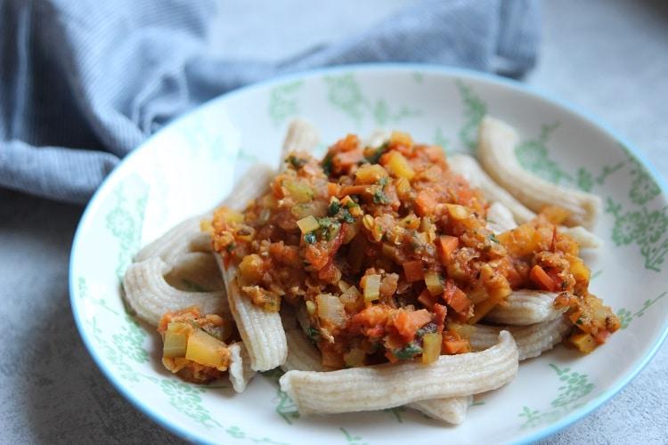 Rezept vegetarische Bolognese mit Linsen