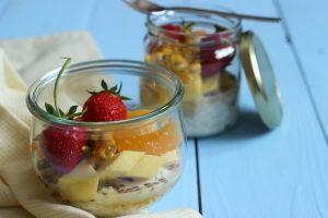 Gesundes und schnelles Frühstück in der Schwangerschaft – Overnight Oats