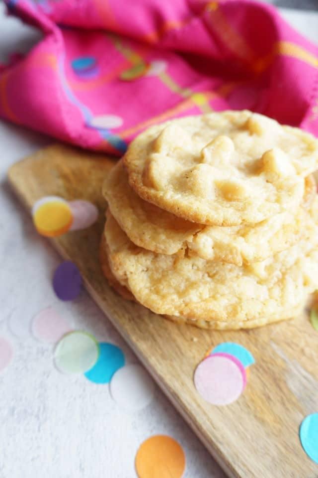 Kekse mit Schokolade und nüssen selber backen - einfaches Rezept für Cookies wie von Subay - die White Chocolate Macadamia Nut Cookies