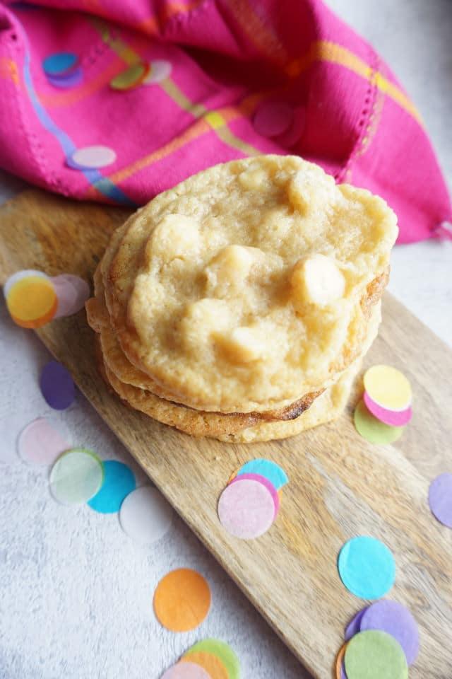 Kekse selber backen - soft backed Cookies - Whithe Chocolate Chips Macadamia Nut Cookies - Kekse mit weißer Schokolade und Nüssen