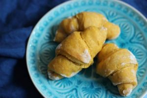 Baby Frühstück Ideen: Süßkartoffelhörnchen ab Beikoststart