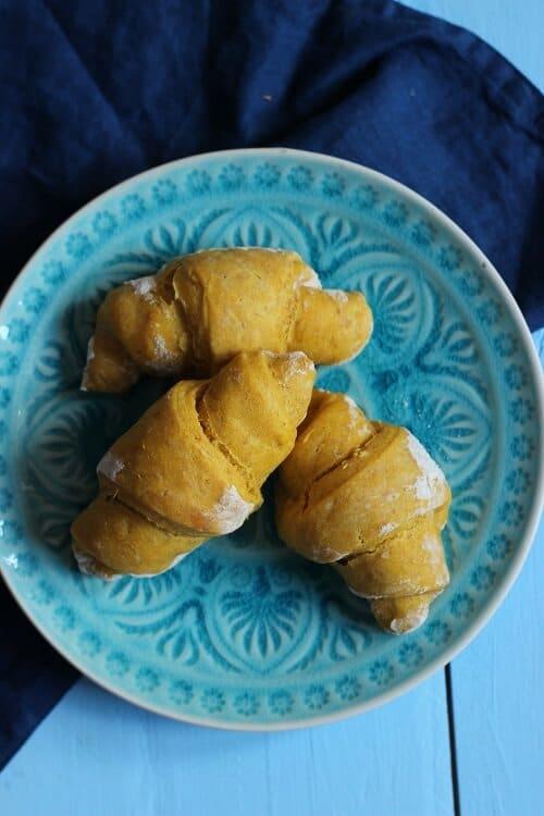 Neue Baby Frühstück Ideen: Süßkartoffelhörnchen ab Beikoststart