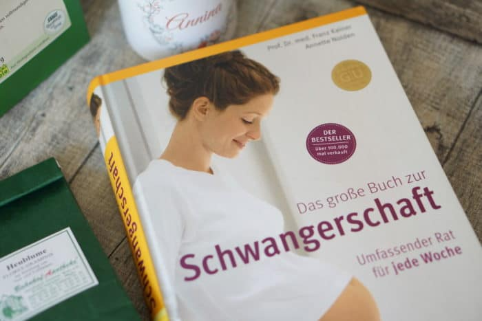 Das große Buch zur Schwangerschaft, Geburt, Wochenbett und Stillzeit - ein Teil der entspannten Geburtsvorbereitung für werdende Mamas