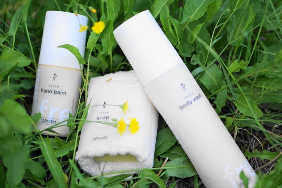 drei Proukte von Ringana Naturkosmetik: Soap, Bodywash und Hand balm. Ohne Chemie und nur mit natürlichen un dpflanzlichen Stoffen. Verlosung von Ringana Produkten