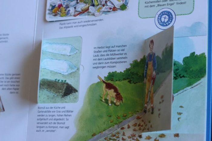 Buch für Kinder zum Vorlesen mit vielen versteckten Türchen zum interaktiven LEsen