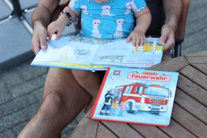 WAS IST WAS Feuerwehr Buch und Buch über die Müllabfuhr für Kindergartenkinder und Kinder ab 3 Jahren