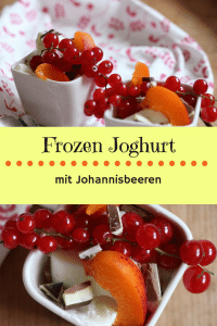Frozen Joghurt ohne Zucker mit Beeren selber machen
