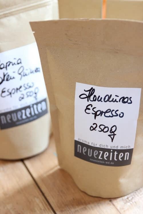 Kaffee und Espresso für Mamas