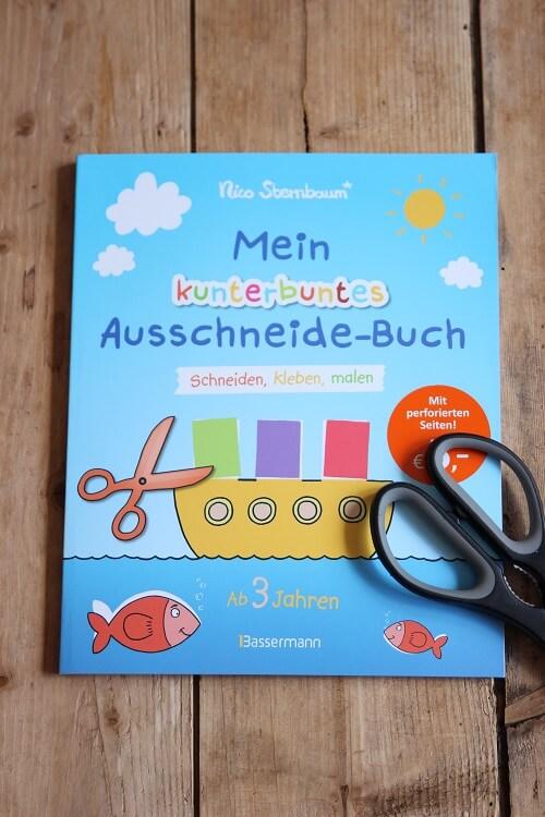 Bastelbuch Ausschneidebuch Nico Sternbaum