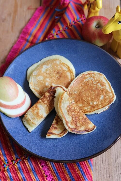 Pfannkuchen Grundrezept einfach und schnell ohne Zucker
