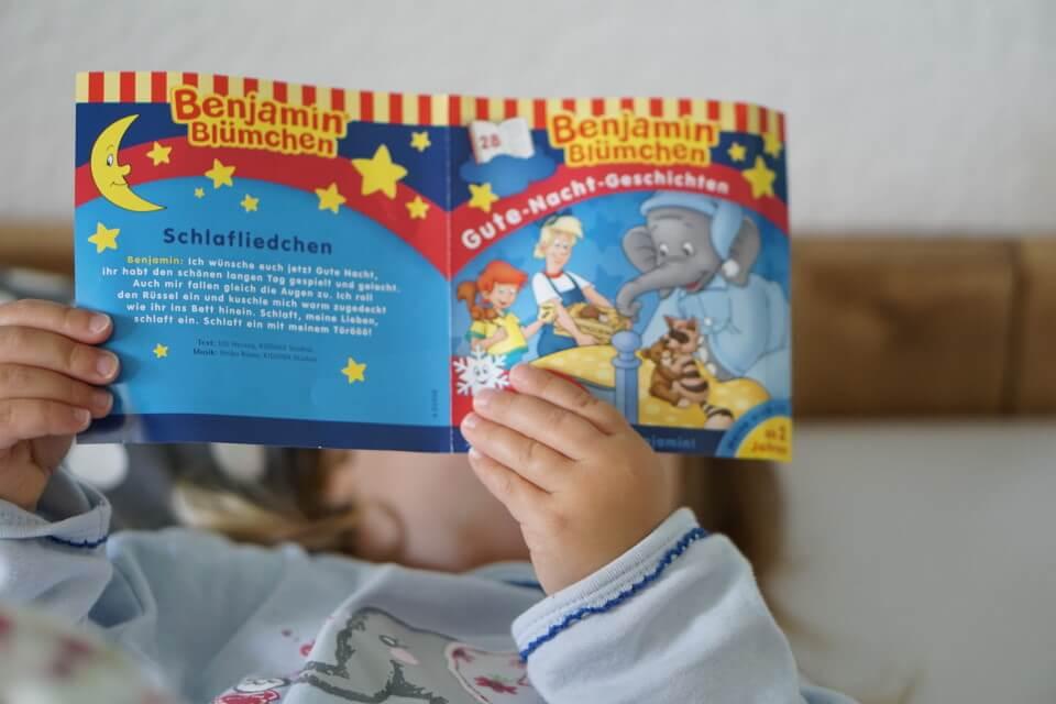 Unser Einschlafritual mit den Benjamin Blümchen Gute Nacht Geschichten