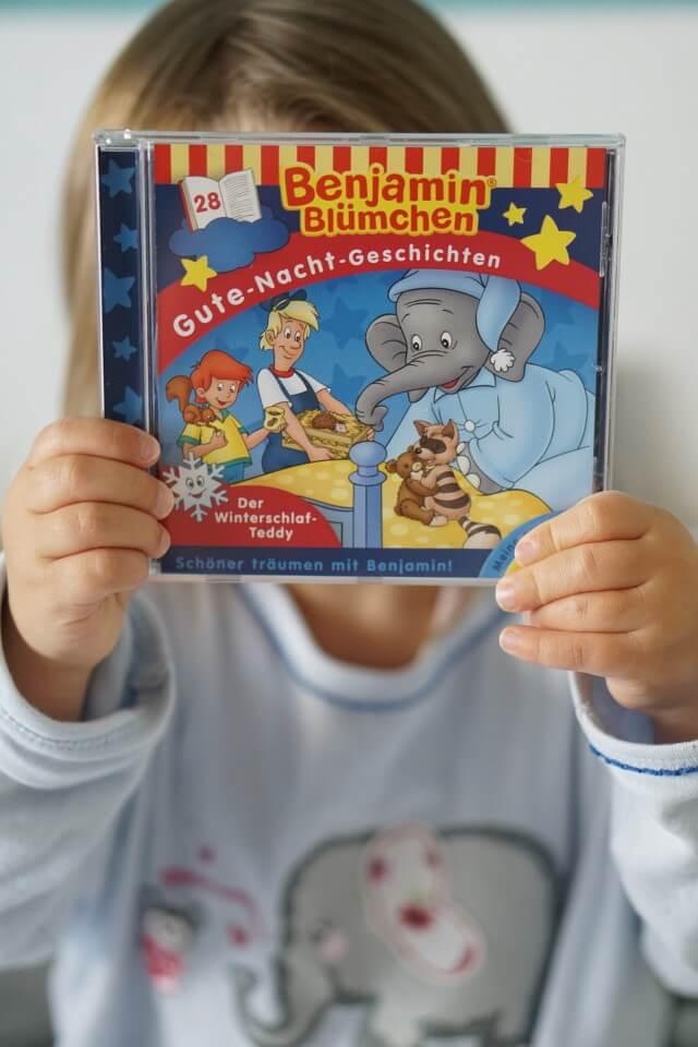 Benjamin Blümchen Gute Nacht Geschichten - Schlaflieder und Hörspiele für Baby und Kleinkind - Der Winterschlaf Teddy