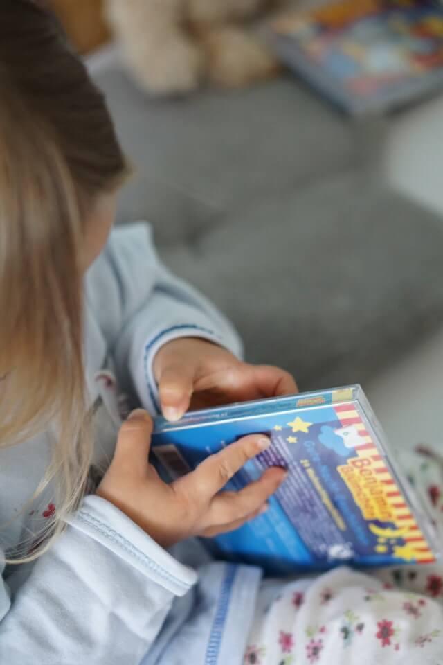CD für Kinder - Benjamin Blümchen der Elefant als Hörspiel CD für Kleinkinder ab 2 Jahren - die BEnjamin Blümchen Gute Nacht Geschichten