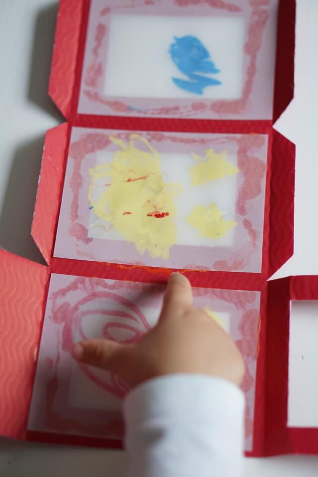 Laterne selber basteln mit Pappe und Transparentpapier unser Herbst DIY mit Kids