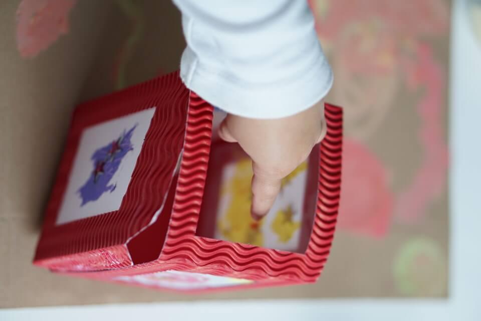 Unsere Laterne in diesem Jahr - eine einfache Bastelanleitung für Kinder