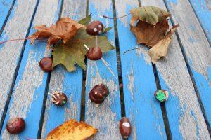 Basteln mit Kastanien im Herbst – tolle Ideen für Kleinkinder