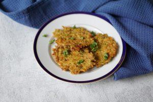 Haferplinsen: ein leckeres Kinderrezept mit Haferflocken und Möhren