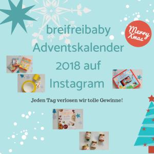 Der breifreibaby Adventskalender 2018