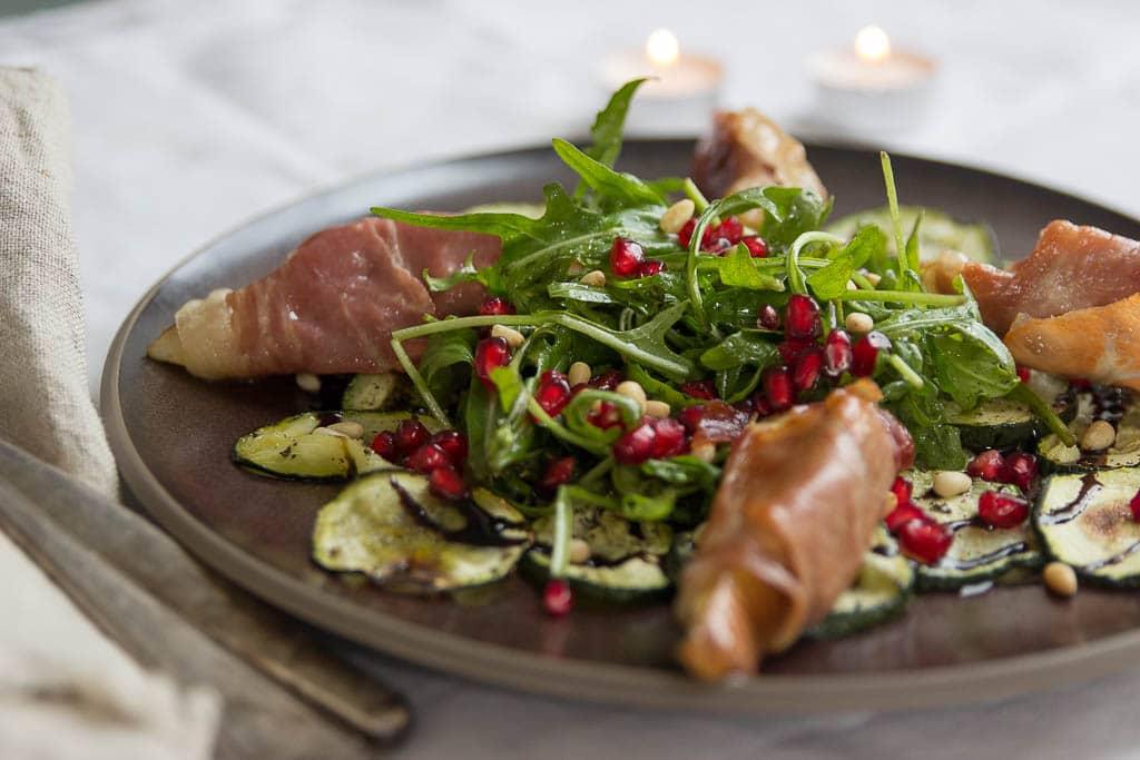Weihnachtsmenü Vorspeise mit Rucola - HelloFresh Rezepte