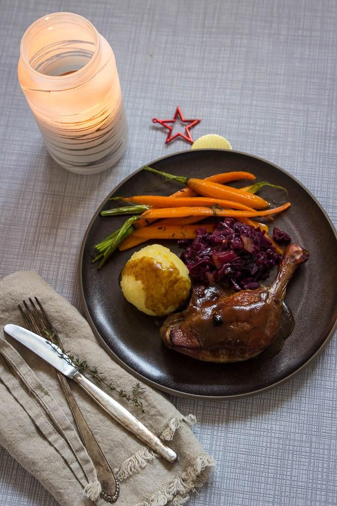 Weihnachtsmenü mit Ente HelloFresh Rezepte