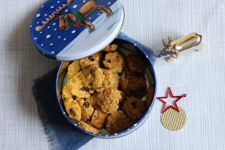 Weihnachtsplätzchen ohne Zucker - gesund backen mit Trockenfrüchten