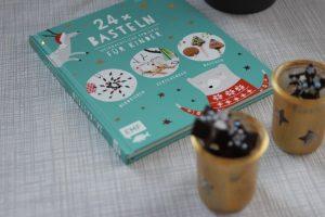 24 x Basteln von Stefanie Möller von Cuchikind und zuckerfreie Schokolade in sternform - Basteln mit Kidnern für Weihnachten