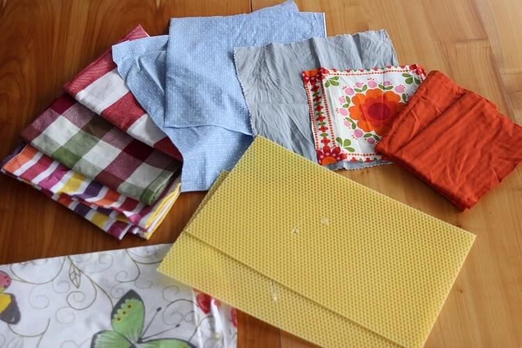 DIY Bienenwachstücher selber machen - Zero Waste und Nachhaltigkeit im neuen Jahr. Gesunde Familienrezepte und Gerichte nachhaltig verpackt