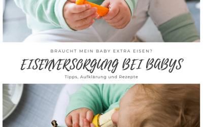 Braucht mein Baby extra Eisen? Informationen zum Thema Eisenversorgung bei baby-led weaning