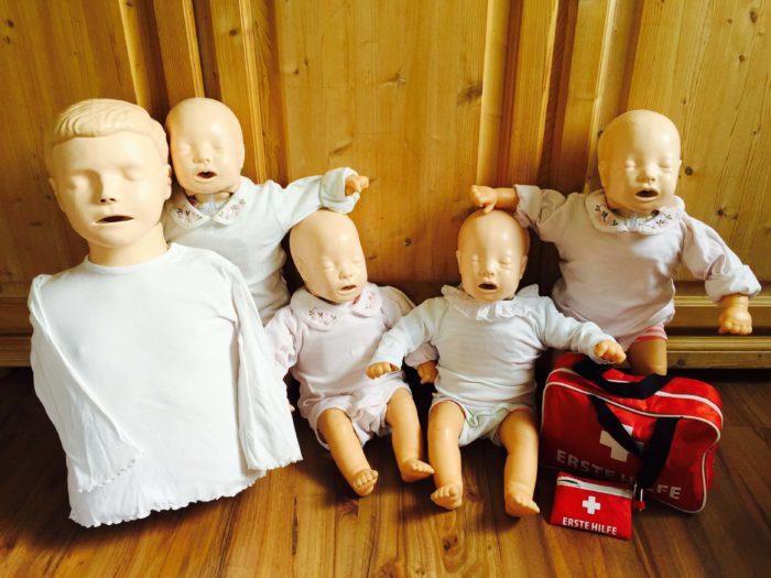Notfälle im Baby und Kleinkindalter - Erste Hilfe Kurse für Babys