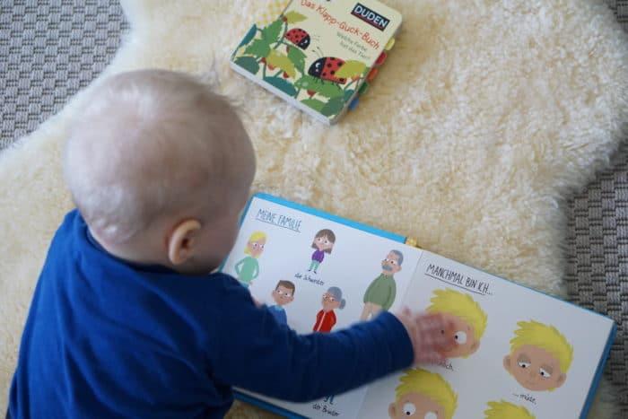 Lesen mit Babys und Kleinkindern