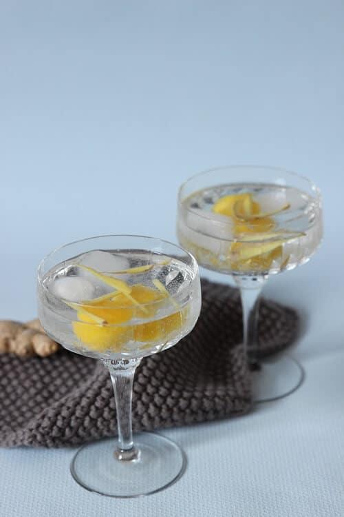 Mocktail mit Ingwer - Buchverlosung Cocktails