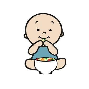 Dein Baby isst am Familientisch mit. Gesunde und abwechslungsreiche Familienküche von Anfang an - leckere BLW Rezepte