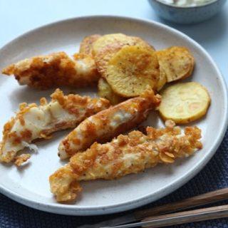 Fischstäbchen selber machen mit Remoulade
