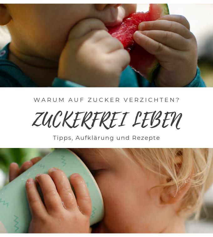 Das Baby zuckerfrei ernähren - warum Zucker schädlich ist und welche Alternativen es gibt? GEsunde Familienküche kann einfach sein.