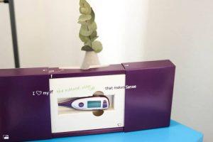 cyclotest mySense Zyklusthermometer für die Verhütung und zum Kinderwunsch