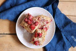 Erdbeer-Scones Rezept ohne Zucker