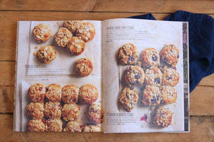 Erdbeer-Scones Rezept ohne Zucker Buchtipp Donna Hay von Einfach zu Brillant
