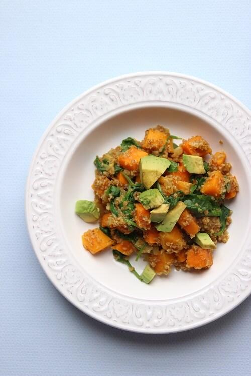 One Pot Gericht für Kinder mit Bulgur und Süßkartoffel