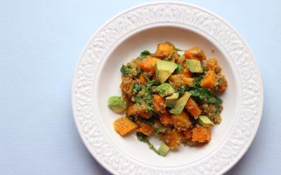 One Pot Gerichte für Kinder: Bulgur-Süßkartoffel-Topf mit Avocado