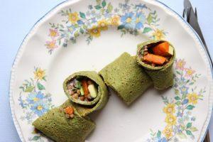 Pfannkuchen für Kinder - gefüllt und gesund