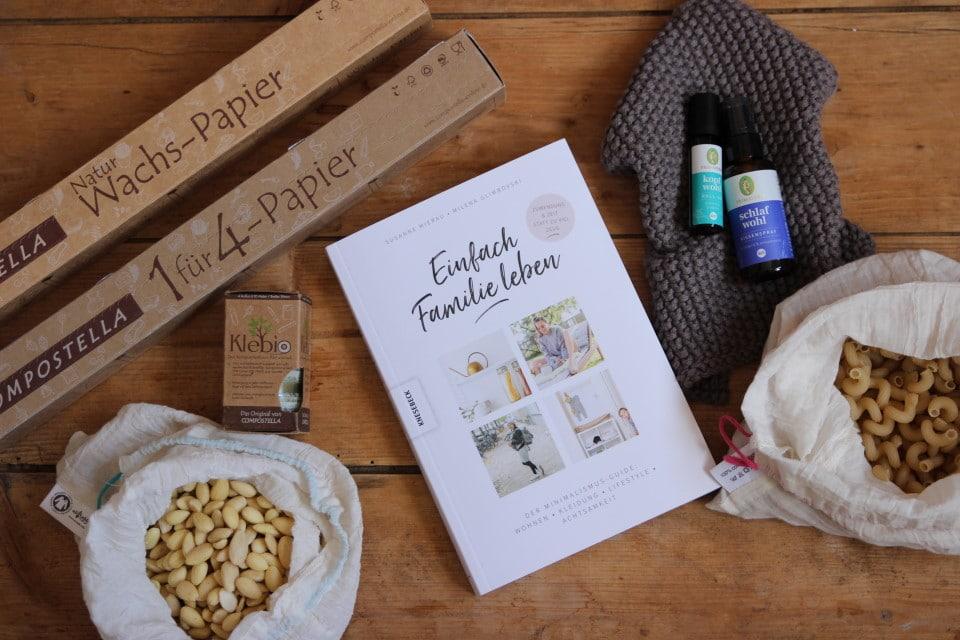 Nachhaltigkeit im Alltag als Familie - kompostierbare Frischhaltefolie, Wachspapier, EInfach Familie Leben un dÖle von Primavera für besseren Schlaf