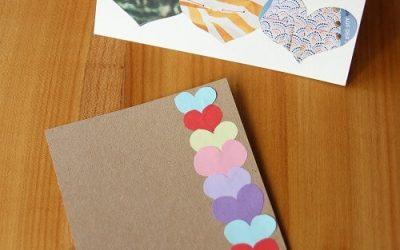 Was Schönes für den Muttertag basteln – z.B. selbstgemachte Karten gestalten