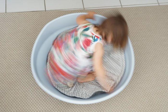 BIG Cosy Kreiselwippe für Kleinkinder