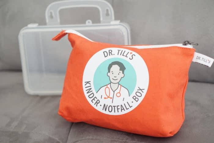 Dr. Till's Kinder-Notfall-Box - ein Erste Hilfe Set für Baby und Kleinkind