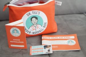 Erste Hilfe Kurs für Baby - und Material für den Notfall - Gewinne die Kinder-Notfall-Box von Dr. Till aus der Uniklinik Bonn