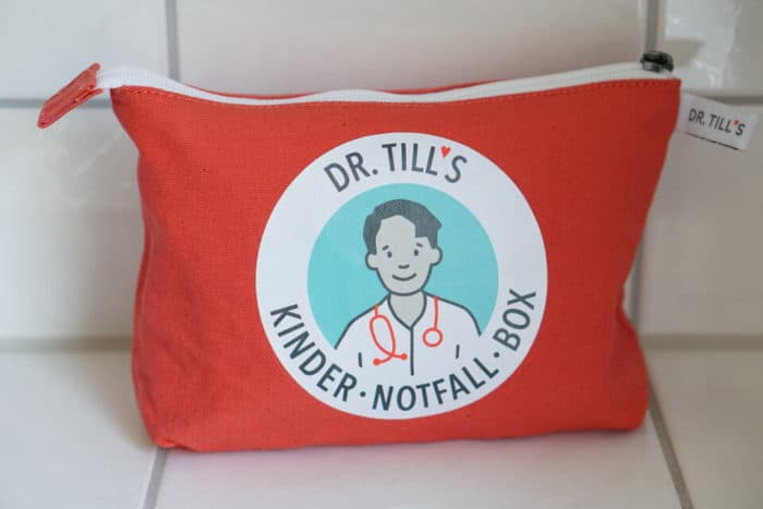 Notfall im Alltag mit Kindern - Erste Hilfe Kurs und Verbandskasten sind hilfreich. Gewinne eine Tasche oder Box - die Kinder-Notfall-Box