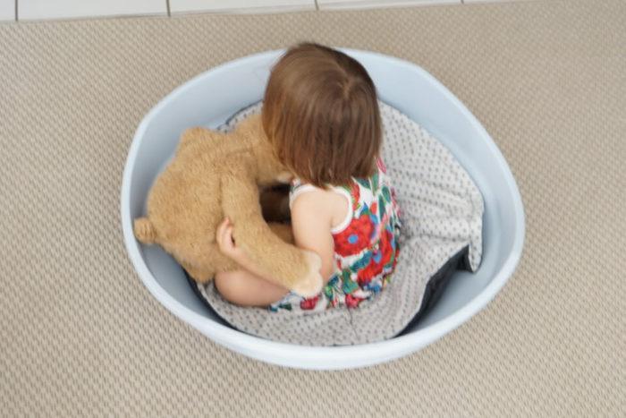 Spiel und Spaß für Baby und Kleinkind it der Wippe von BIG