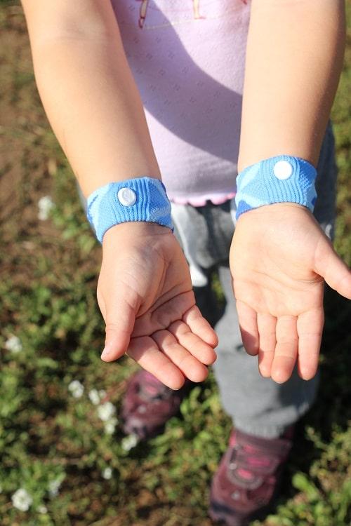 Akkupressurband für Kinder